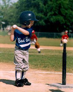 First Step Of Baseball T Ball