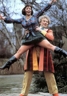 Nicola Bryant compagnion of the 5th and 6th doctor