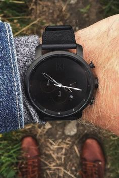 The Black Chrono from MVMT Watches.