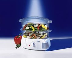 awesome Oster 5711 Mechanical Food Steamer, White