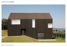 Rossetti + Wyss Architekten Gottshalden - Buscar con Google
