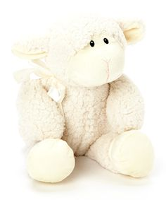 Cream Lamb 16'' Plush Toy | Daily deals for moms, babies and kids