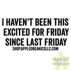 It's Friday, baby! Have a beautiful day! #Friday #Happy #AnAppleADay #OrganicSkincare #AllNatural #Vegan #CrueltyFree #Beauty #SkinCare #SmallBatch #GreenBeauty #ecoSkincare #ShopSmall #GreenvilleSC #yeahTHATgreenville #HaveABeautifulDay #BeautifulSkinStartsHere #AppleOrganics
