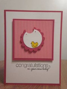 Baby Bib by mjbsmiley - Cards and Paper Crafts at Splitcoaststampers