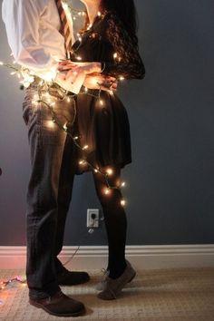 Les gens lumineux, solaires, heureux méritent d'être décorés (enguirlandés). ;)