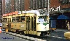 Lijn 10 in de Grote Marktstraat, den Haag. Tramway, Good Old Times, Light Rail, The Hague, Train Tracks, Public Transport, Rotterdam, Buses, New England