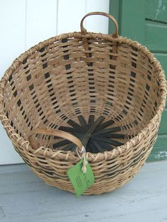 Large Round Laundry Basket-  or maybe can buy from local Amish at farmer's market. They sell them there.