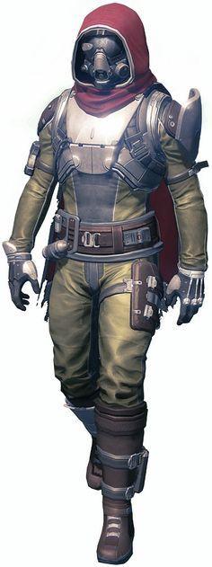 destiny hunter armour tutorial - Google Search