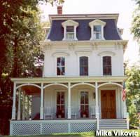 The house on Elm St in Westfield NJ that inspired the Adams Family.