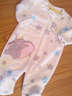 BNWT Reborn Baby s Disney Dumbo Fleece Onsie Newborn Size Sale | eBay