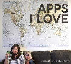 Some of my favorite iPhone apps via @Tsh Oxenreider of Simple Mom. SO helpful.