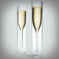 Copas de champagne de diseño de MOMA | Artilugios de cocina