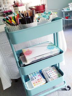 Blog: Workspace Wednesday | Anabelle O'Malley - Scrapbooking Kits, Paper & Supplies, Ideas & More at StudioCalico.com!
