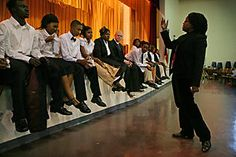 A drama teacher stages a revolution inside a school – and galvanizes a town - CSMonitor.com
