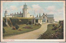 Lizard Lights, Cornwall, 1905 - Peacock Postcard