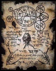 Cthulhu LARP Necromancers Dark Art Necronomicon Occult Magick Zombie Horror | eBay