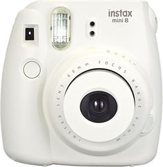 travel camera for kids | Fujifilm Instax Mini 8 Instant Film Camera (White) Fujifilm