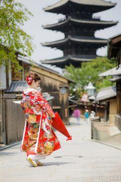 色打掛&白無垢で*京都巡って前撮り  *elle pupa blog*