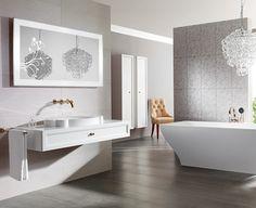 Pomysł na wyposażenie łazienki Villeroy & Boch LaBelle