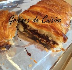 Recette Feuilleté au chocolat par graines2cuisine.com