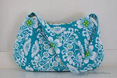 Small Buttercup Bag  Pippa in Aqua  handbag  by SweetGracieMae, $36.00