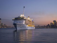 Royal Caribbean's Quantum of the Seas isn't your run of the mill cruise ship. It's changing the face of cruising and how. Enchantment Of The Seas, Grandeur Of The Seas, Royal Caribbean Ships, Royal Caribbean Cruise, Cruise Travel, Cruise Vacation, Cruise Port, Vacations, Alaska
