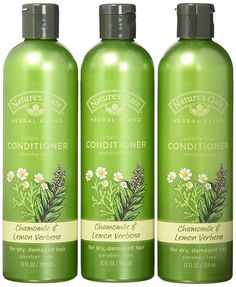 Nature's Gate Organics Conditioner, Chamomile and Lemon Verbena, 12- Ounce Bottles, (Pack of 3) -- Insider's special review you can't miss. Read more  : Natural Beauty Care