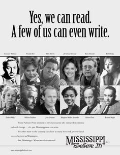 Image result for writers from mississippi