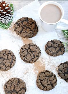 Mexican Hot Chocolate Snickerdoodles, a cookie with a zing and flavor burst of red cayenne pepper, cinnamon, and chocolate. Warm up when it is cold outside.