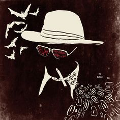 Fear and Loathing Illustrator, Ralph Steadman Psychedelic Art Gallery