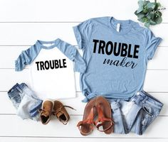 Mommy and Me Shirts Mommy and Me Clothes Mommy and Me Mother Son Matching Outfits, Mom And Son Outfits, Mother Daughter Shirts, Mom Daughter, Daddy And Son, Baby Boy Outfits, Newborn Outfits, Mother Daughter Crafts, Mother Daughters