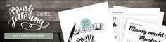 Material Empfehlungen für Hand Lettering und Brush Lettering (Bleistifte, Fineliner, Filzstifte, Brush Pens)