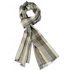 Large Grey Checks on White Base. This stole has beautiful grey checks on a snow-white base. They can be work with all color families or can be carelessly thrown over a look of jeans ans a casual jacket.   http://www.indiancraftsmen.com/accessories/stoles/large-grey-checks-on-white-base-mpcs0100