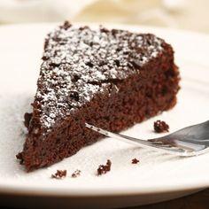 easy one-bowl chocolate cake