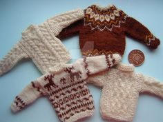 1:12th scale Mens Sweaters by buttercupminiatures.deviantart.com