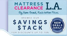 Browse our savings stacks for discounts up to 70%