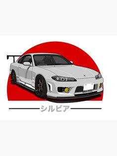 Nissan Silvia S15 Jdm Tuner Poster by asvpdiamond