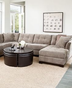 Large sectional! We could scale it down for you to fit in the perfect spot in your home!