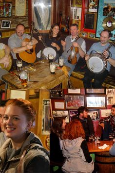 "Some of the best ""craic"" or fun can be had in Irish pubs on our tours. Spontaneous traditional Irish music sessions and good company, where else would you want to be?"