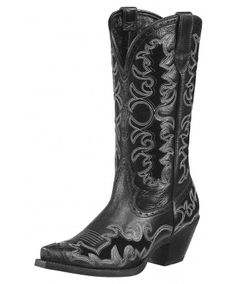 Ariat Dandy Sassy Black Cowgirl Boots