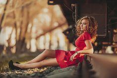 railway girl by Ray Zi on 500px