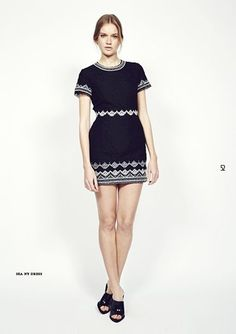Look 52  http://www.oxygenboutique.com/Embroidered-Lace-Short-Sleeve-Dress-Black.aspx