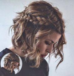 10 Υπέροχα χτενίσματα για κοντά μαλλιά