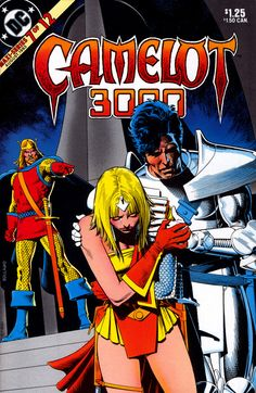 Camelot 3000 #7, august 1983, cover by Brian Bolland.