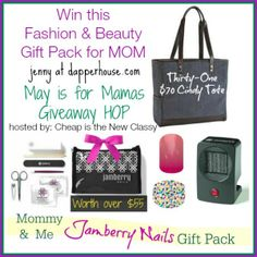 Win this Fashion and Beauty Gift pack for Mom #maymamas @Jen At Dapperhouse Giveaway Hop