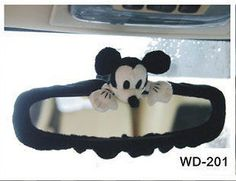 New Disney Mickey Mouse Rear View Mirror Cover | eBay