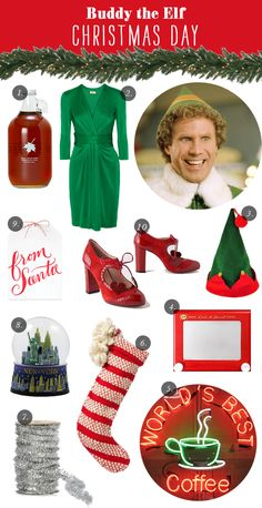 Buddy the Elf Party Inspiration. mWe're so excited to bring ELF THE MUSICAL to the Community Center Theater presented by Broadway Sacramento Nov. 6 - 15, 2015. TICKETS: http://www.californiamusicaltheatre.com/events/elf/
