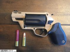 Taurus Judge In 45 Colt 410 With Really Classy Wooden