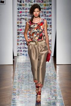 Aigner Spring 2013 Ready-to-Wear Collection by elle.com