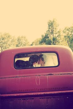 old truck kiss i think i will be trying this!